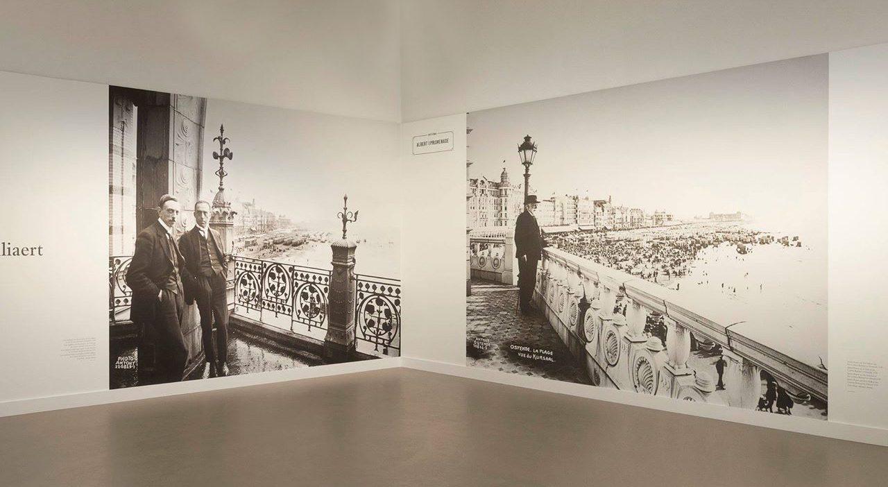 Ensor & Spilliaert museumvleugel, scannen foto's + afdrukken en plaatsen scenografie, © Mu.ZEE