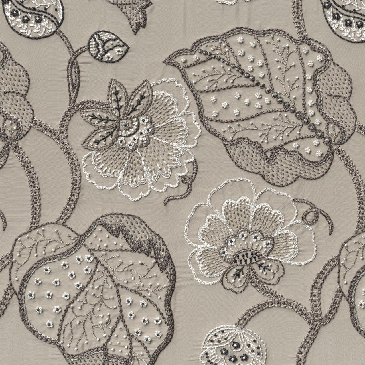 Geborduurd textiel, © Cruse